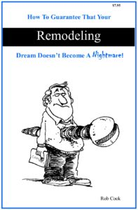 Cook Bros. Arlington Design Build Remodeling Contractor Services: _Remodeling Booklet eBook Cover